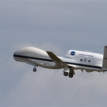 NASA's Global Hawk 872 Takes off for HS3 Science Flight #5 on Tuesday Sept. 4, 2012 less than 5 hours after NASA 871 landed...