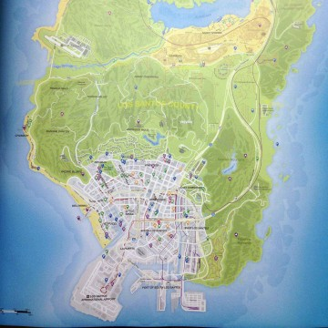 "The alleged ""GTA 5"" map."