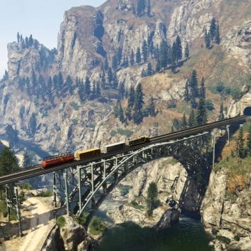 "A leaked images of the ""Grand Theft Auto 5"" map shows just how gigantic the new game really is."