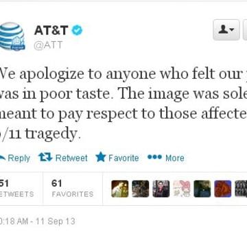 ATT apology