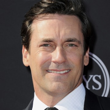 Jon Hamm arrives at the ESPY Awards on Wednesday, July 17, 2013, at the Nokia Theater in Los Angeles. (Photo by Jordan Strauss/Invision/AP)