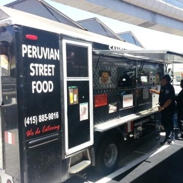 SFO food truck