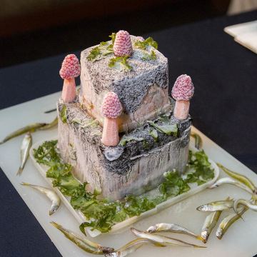 Image: Granddad's anniversary cake