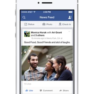 Facebook for iOS 7