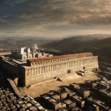 Image: Temple reconstruction