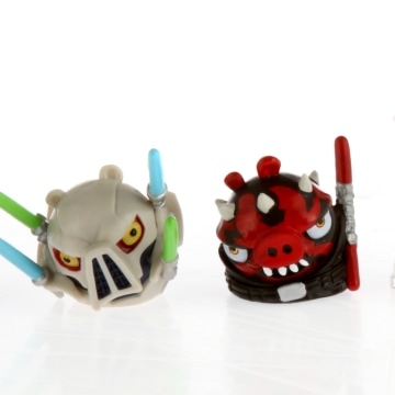"""Hasbro said that there are 32 toys for """"Angry Birds Star Wars II"""" to start with more toys coming after the initial launch. The company also hinted at plans to bring the telepods technology to more of its toy franchises in the future, further blurring the line between physical and digital play."""