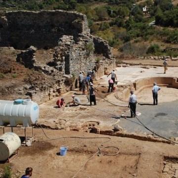 The dig site at Antiochia ad Cragum