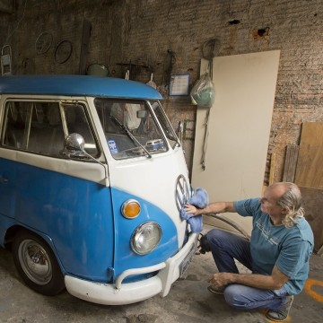 "Brazil is the last place in the world still producing the iconic vehicle, or ""bus"" as it's known by aficionados, but VW says production will end Dec. ..."