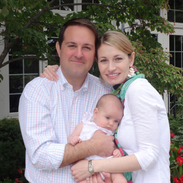 Diana Flower, Jason Flower and baby Cecily Francis