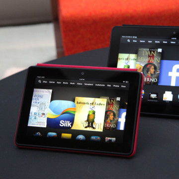 Amazon's new HDX tablets