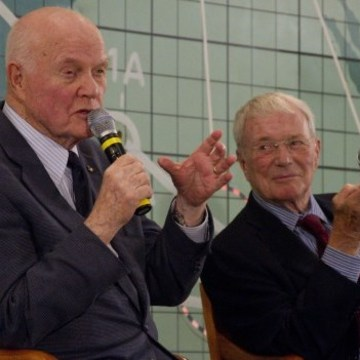 Image: John Glenn and Scott Carpenter