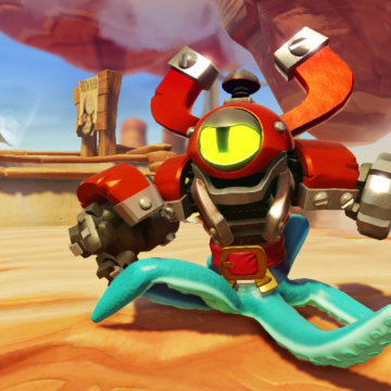 """Skylanders: Swap Force"" is the first game in Activision's celebrated toy-gaming series that has action figures with multiple interchangeable parts."