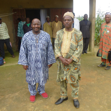 Image: William Holland and Fon of Bakou
