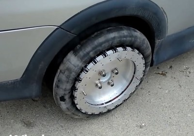 These Omnidirectional Tires Could Mean the End of Your Parallel Parking Woes