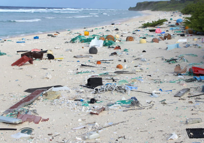 'Most Densely Polluted Place on Earth:'             Tons of Plastic Washes Up on Remote Island