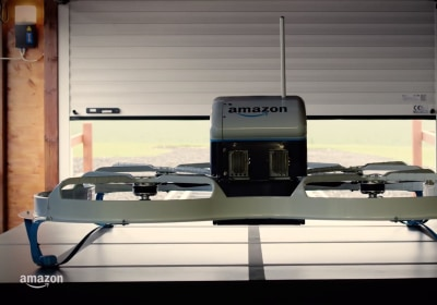 Amazon Wants to Ship Packages From a Flying Warehouse