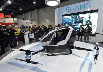 Passenger-Carrying Drones Will Take to the Skies This Summer