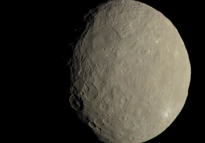 This Dwarf Planet Has Life's Building Blocks, NASA Probe Shows