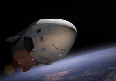 Look Inside the SpaceX Capsule That Will Take Two Beyond the Moon