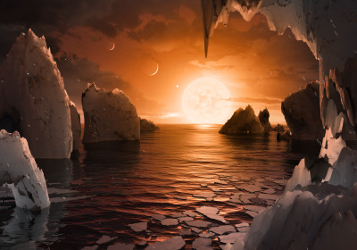 Living on the TRAPPIST-1 Planets Would Be Very Strange