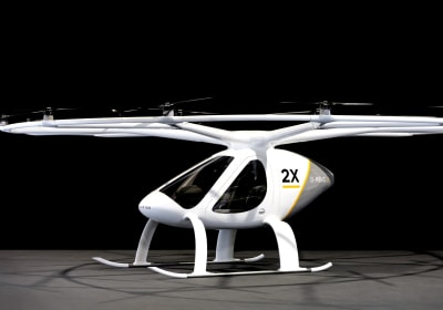 Is This Electric 'Multicopter' the Air Taxi of the Future?