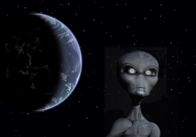 Did Intelligent Space Aliens Once Live in Our Solar System?