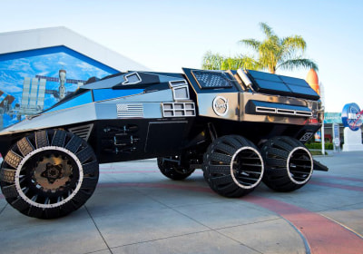 This Mars Rover Concept is Ready to Go Off-Roading Through Red Dust