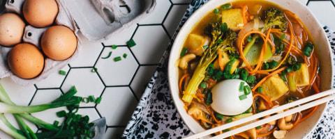 5 Better, Healthier Bowls of Ramen to Make Tonight