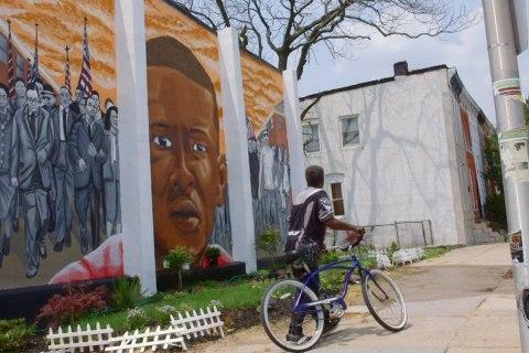 Baltimore Street Artists Bring Murals to Neighborhood of Freddie Gray