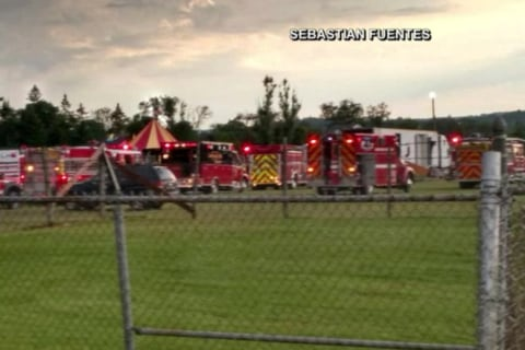 Tent Collapse Kills Two in New Hampshire