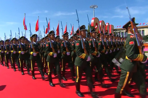 China Military Parade Celebrates World War II Victory