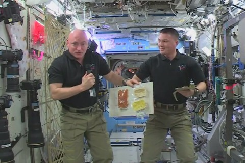 Thanksgiving Greetings From Space