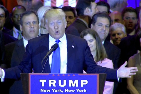 Trump: If Clinton Were a Man She Wouldn't Get 5 Percent of the Vote