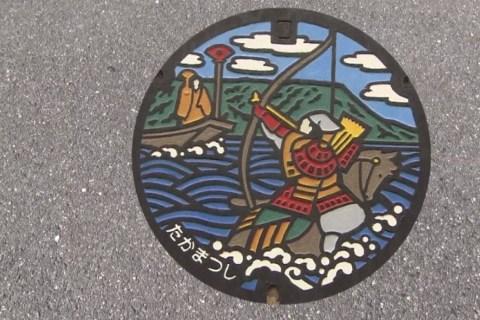 Manhole Cover Craze Sweeps Japan