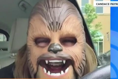 Heartwarming 'Chewbacca Mom' Breaks Facebook Record
