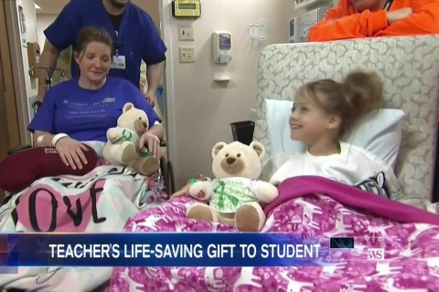 Student Receives Life-Saving Kidney Transplant From Teacher