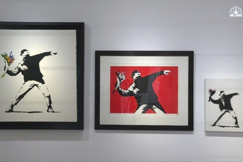 Admit One: Inside Latest Banksy Art Exhibit in Rome