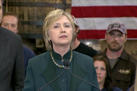 Clinton Says She 'Misspoke' on Coal Mining
