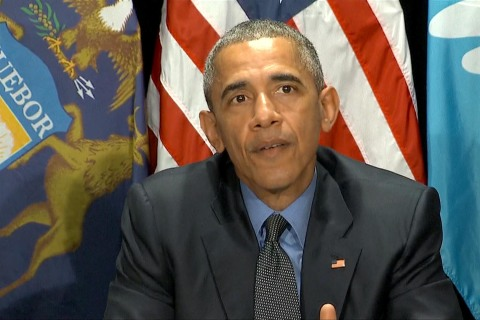 Obama to Flint Residents: Filtered Water Is Safe