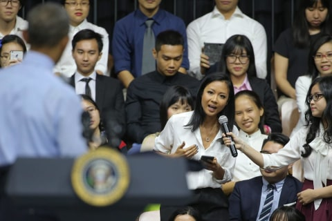 'Come On!' Vietnamese Rapper Rises to Obama's Challenge