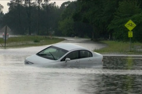 Six people killed in heavy rain and flooding in Texas