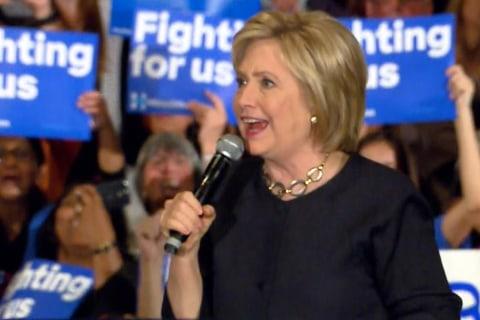 Hillary Clinton hurries to counter Bernie Sanders in California