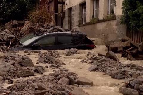 Devastating Floods Hit Southern Germany