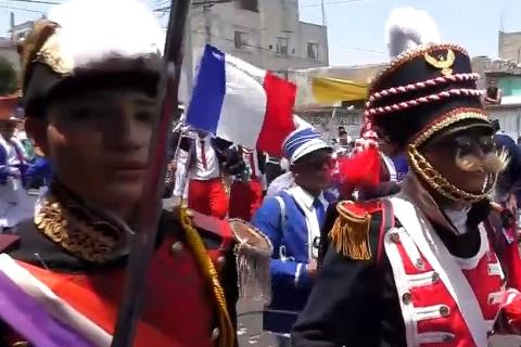 Dancing, Drinking as Mexicans Re-Enact Cinco De Mayo Battle