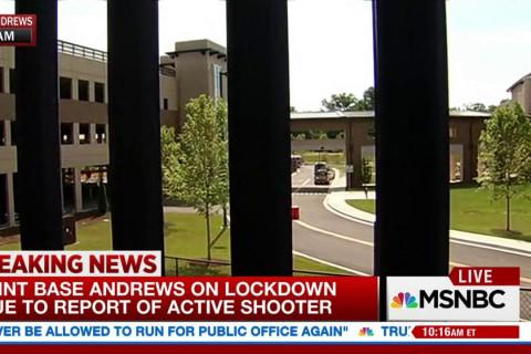 No active shooter at Joint Base Andrews