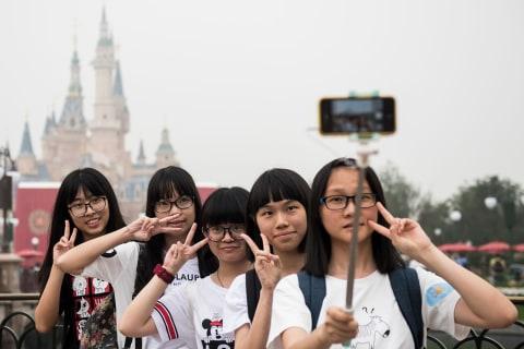 Shanghai Disneyland Opens With Razzmatazz