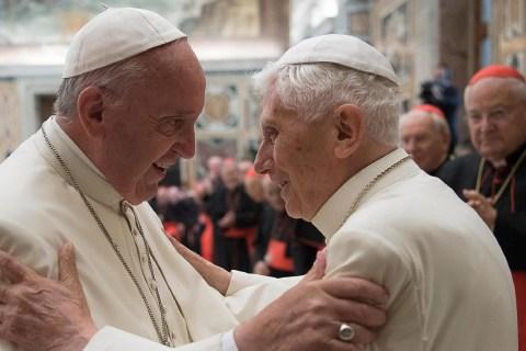 Pope Francis Honors Benedict as Pope Emeritus Reaches Milestone