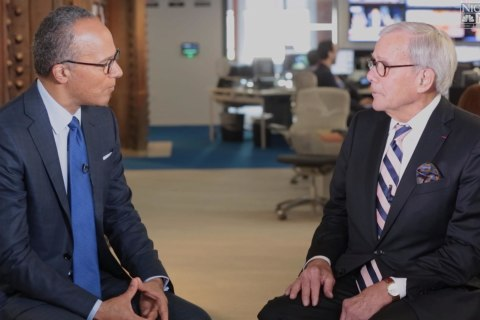 Tom Brokaw Goes Deep on Cancer Treatment, Biden's Moonshot