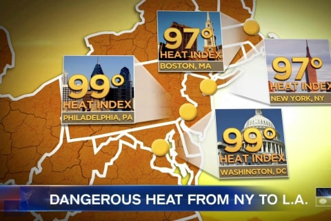 'Heat Dome' Brings Dangerous Temperatures to 26 States