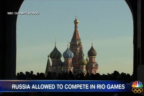 IOC Decides Against Banning Russia's Athletes From Olympic Games